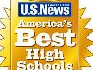 US News and World Report America's Best High Schools Award