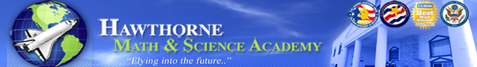 Hawthorne Math & Science Academy  Logo